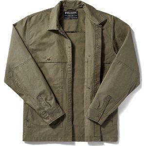 FILSON Lightweight Jac Shirt Otter Green Mens XL